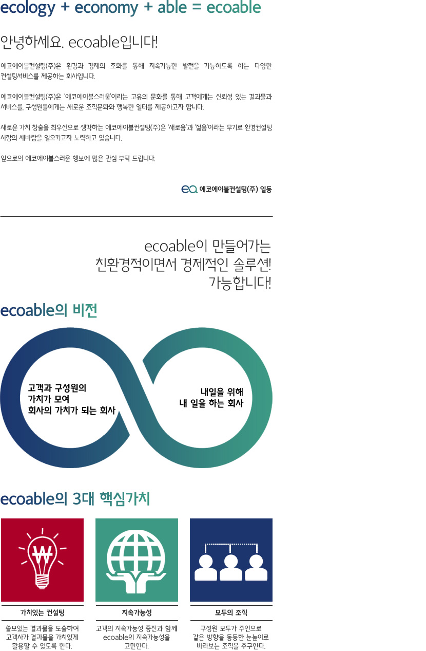ecoable 소개